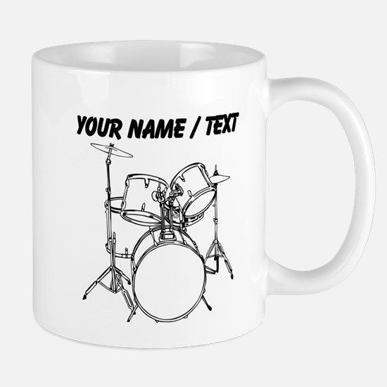 Custom Drum Set Mug