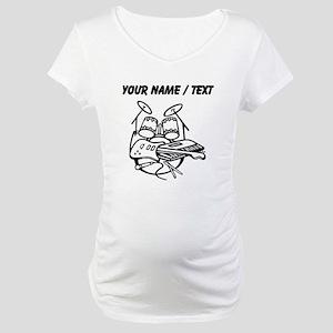 Custom Rock Band Maternity T-Shirt