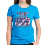 Women's Thank You 3ID Dark T-Shirt