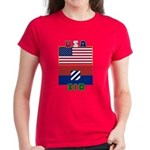 Women's USA/3ID Dark T-Shirt