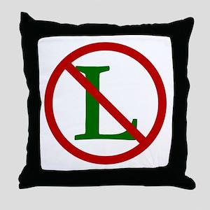 NOEL (NO L Sign) Throw Pillow