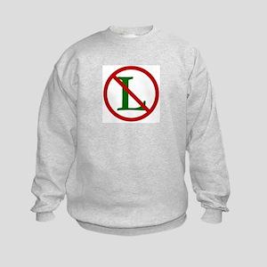 NOEL (NO L Sign) Kids Sweatshirt