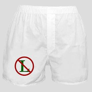 NOEL (NO L Sign) Boxer Shorts