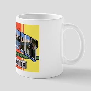 Frankfort Kentucky Greetings Mug