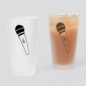 Microphone Drinking Glass