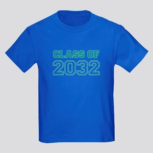 Class of 2032 Kids Dark T-Shirt