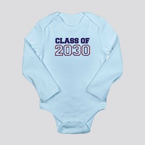 Class of 2030 Long Sleeve Infant Bodysuit