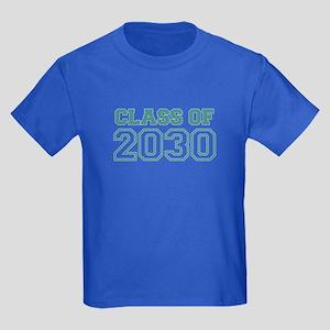 Class of 2030 Kids Dark T-Shirt