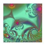 Jeweled Staircase, Kaleidoscope Tile Coaster