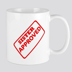 Sister Approved (Red) Mug
