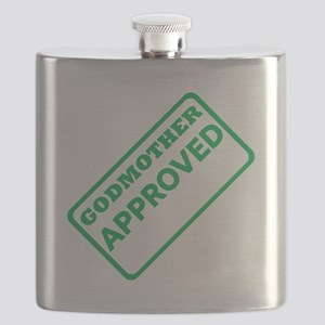 Godmother Approved (Green) Flask