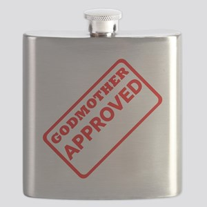 Godmother Approved (Red) Flask