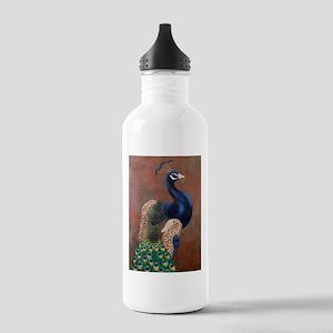 StephanieAM Peacock Sports Water Bottle