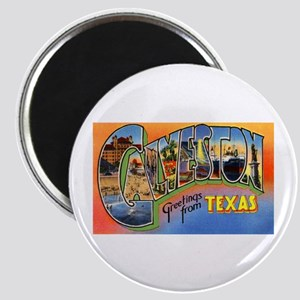 Galveston Texas Greetings Magnet