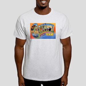 Galveston Texas Greetings Ash Grey T-Shirt