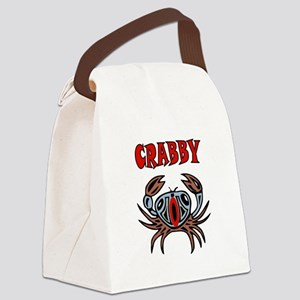 CRABBY Canvas Lunch Bag
