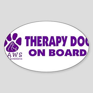 therapydogonboard Sticker