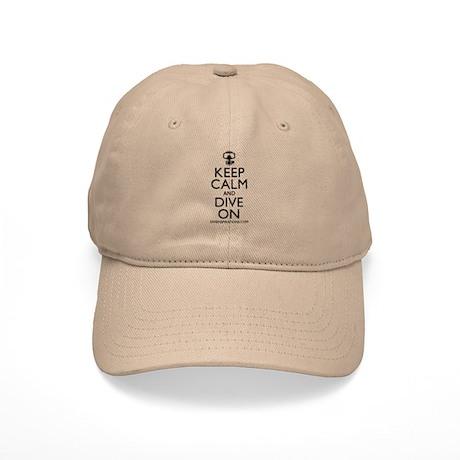 Keep Calm Dive On Cap