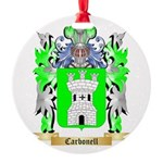 Carbonell Round Ornament