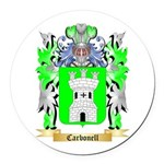 Carbonell Round Car Magnet