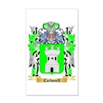 Carbonell 35x21 Wall Decal