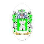 Carbonel Oval Car Magnet