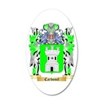 Carbonel 20x12 Oval Wall Decal