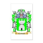 Carbonel 35x21 Wall Decal