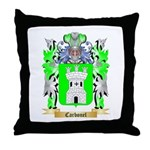 Carbonel Throw Pillow
