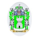 Carbonel Ornament (Oval)