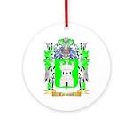 Carbonel Ornament (Round)