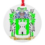 Carboneau Round Ornament