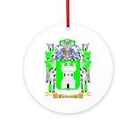 Carboneau Ornament (Round)