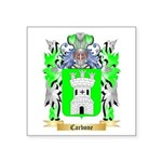 Carbone Square Sticker 3