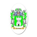 Carbone 20x12 Oval Wall Decal