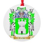 Carbo Round Ornament