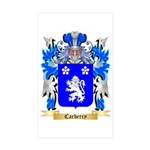 Carberry Sticker (Rectangle 10 pk)