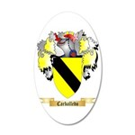 Carballedo 20x12 Oval Wall Decal