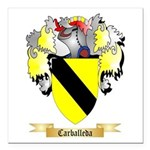 Carballeda Square Car Magnet 3