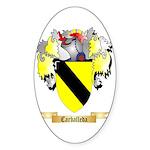 Carballeda Sticker (Oval 50 pk)