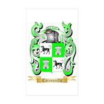 Carasquillo Sticker (Rectangle 50 pk)