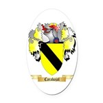Carabajal Oval Car Magnet