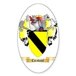 Carabajal Sticker (Oval 10 pk)