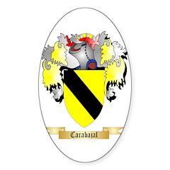Carabajal Sticker (Oval 10 pk)