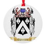 Capucciaro Round Ornament