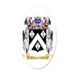 Capucciaro Oval Car Magnet