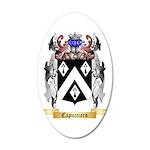 Capucciaro 35x21 Oval Wall Decal