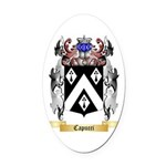 Capucci Oval Car Magnet