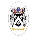 Capucci Sticker (Oval)