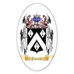 Capucci Sticker (Oval 50 pk)